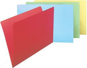 Subcarpetas colores 10 ud.