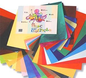 Blocs de papeles surtidos para manualidades