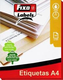 Etiquetas blancas a4 para fotocopiadora