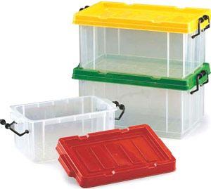 Cajas multiusos 3,7 y 8 litros