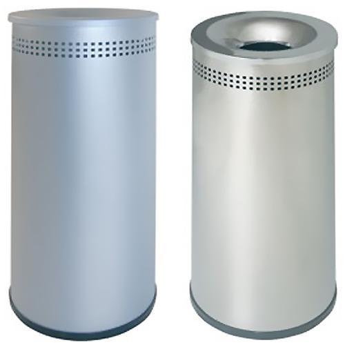 Papelera metal perforada 39 l.