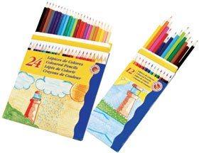 Lápices de colores económicos