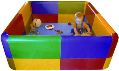Parque infantil cuadrado