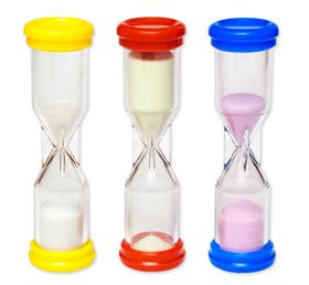 Reloj arena 3 ud 1-2-3 minutos