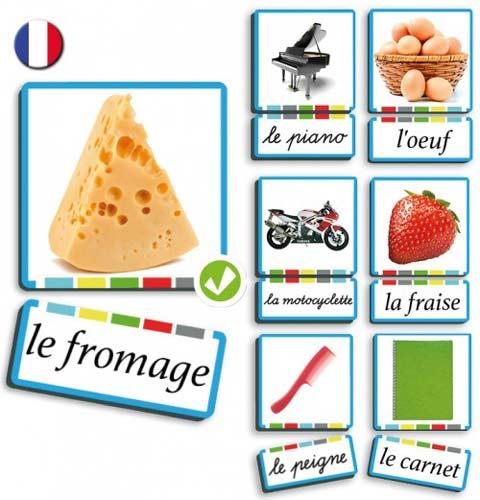 Autodictadado sustantivos francés