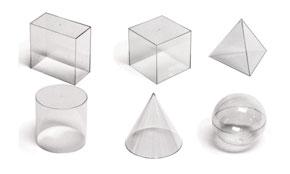 Set de volumen plástico 5 piezas