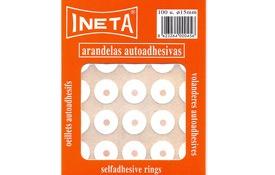 Arandelas adhesivas 15 mm 100 ud