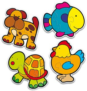 Puzzles Form Animals