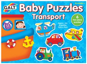 Puzzles Baby Transportes