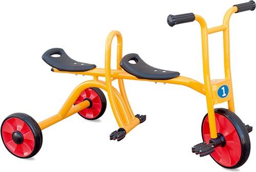 Triciclo tandem taxi para guardería