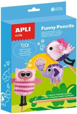 Kit Funny pencils Fieltro