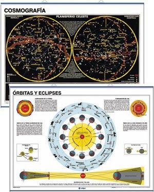 Cosmografía / órbitas y eclipses
