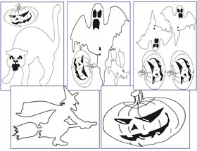 Láminas Halloween