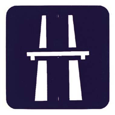 Señal autovía