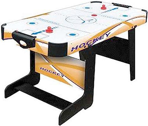 Air hockey plegable