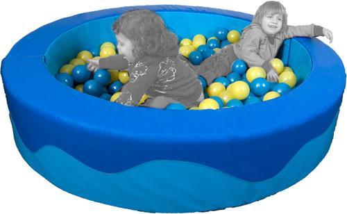 Piscina de bolas redonda 150 x 30 x 15 cm
