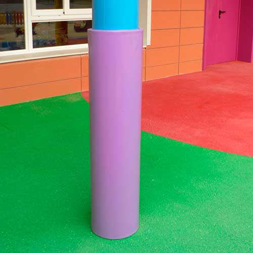 Protectores de columna fabricados a medida detalle 3