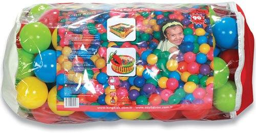 Saco de bolas de cuatro colores