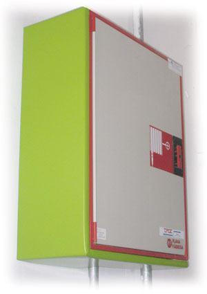 Protección especial caja incendios