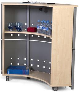 Interior mostrador