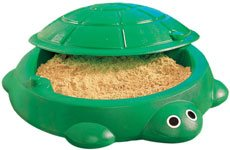 Arenero tortuga