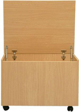 Adrada armarios escolares estanter as escolares - Baul guarda juguetes ...