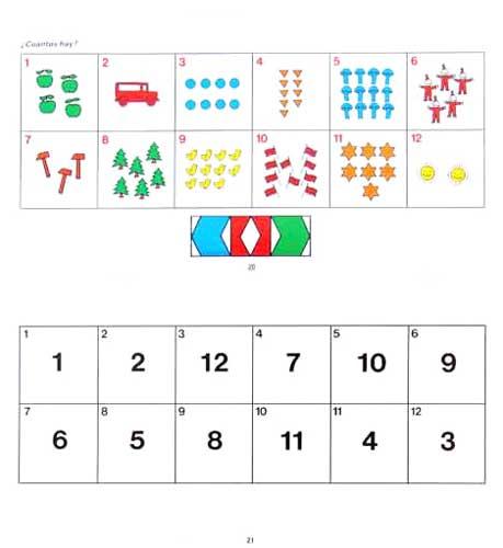MiniARCO Ejercicios de educación infantil 3 detalle