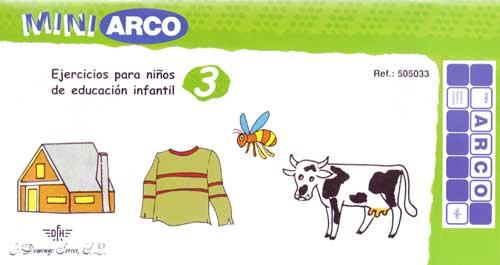 MiniARCO Ejercicios de educación infantil 3