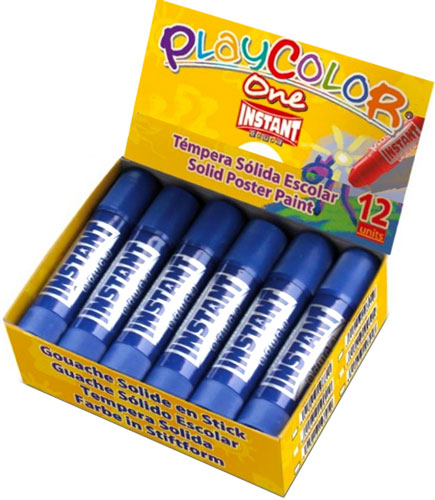 Témpera sólida Playcolor unicolor 10 gr