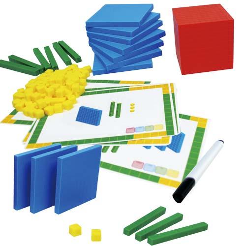 Tarjetas de actividades para base 10