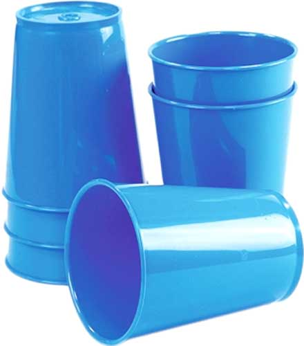 Vasos azules