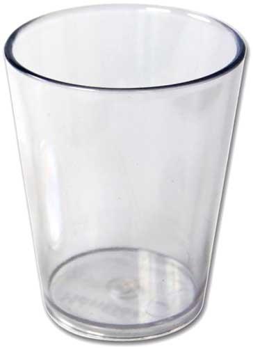 Vasos transparentes