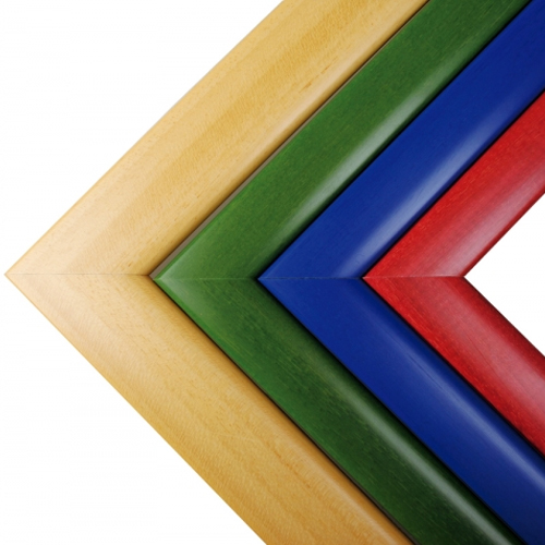 Espejo irrompible 100x65 cm marco madera