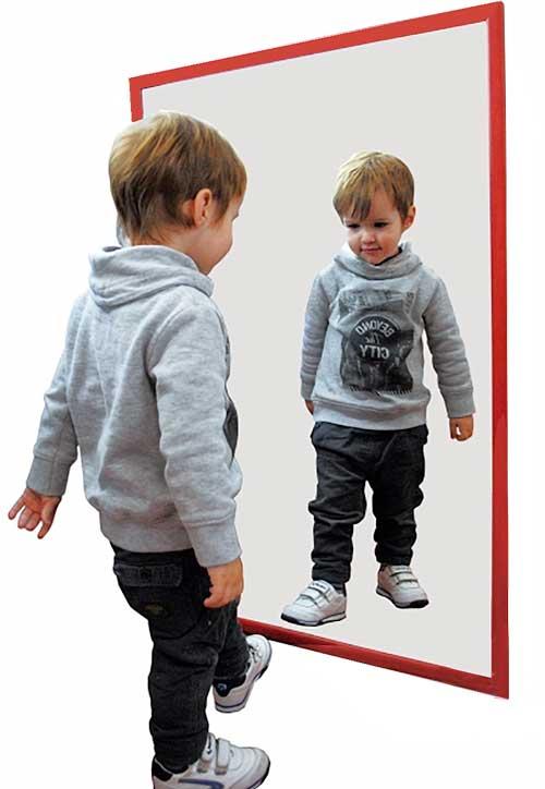 Espejos irrompibles infantiles para colegios mobiliario for Espejo retrovisor para ninos