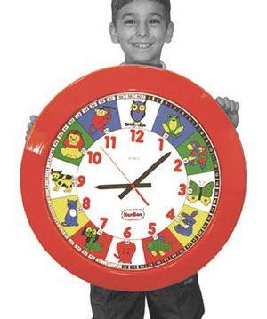 Reloj gigante escolar 60 cm
