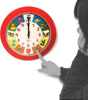 Reloj escolar 28 cm