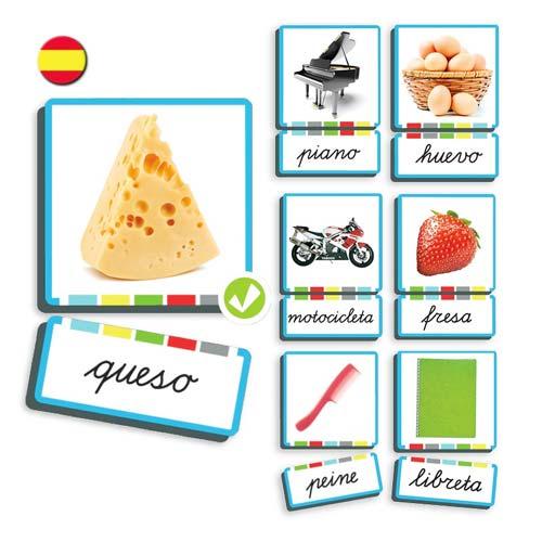 Autodictados de sustantivos 108 fotos español