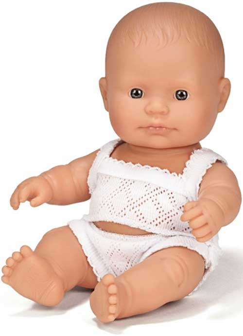 Muñecos europeos 21 cm detalle 2