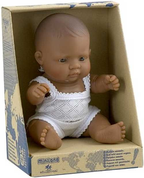 Muñecos latinoamericanos 21 cm detalle 3