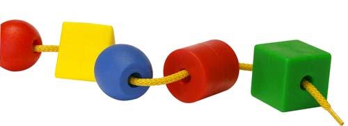 Formas ensartables con cordones detalle 6