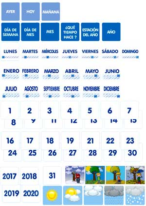 Visual Displays Calendario