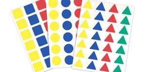Gomets multiforma geométricos