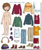Gomets vestirse niño