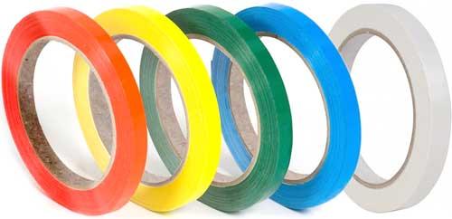 Cinta adhesiva 12 mm x 66 metros colores