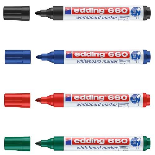 Rotuladores Edding 660 para pizarra blanca