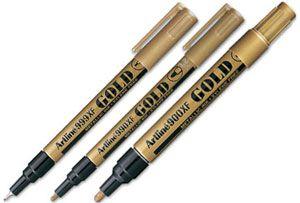 Rotulador Artline oro