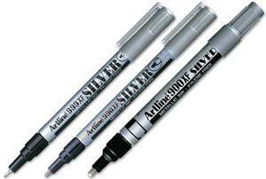 Rotulador Artline plata