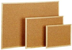 Tableros corcho económicos marco madera