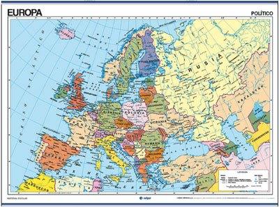 Mapas europa físico / político