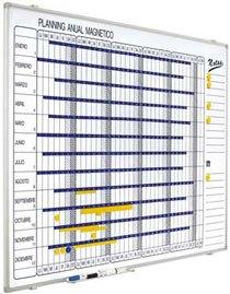 Plannings magnéticos 90 x 120 cm detalle 1